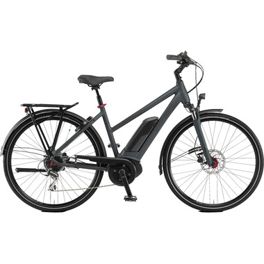 Vélo de Ville Électrique WINORA SINUS TRIA 8 TRAPEZ Gris 2019